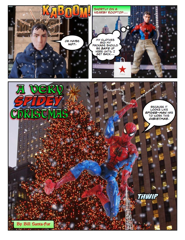 spiderman comic page
